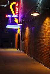 Scat Cat Jass Lounge and Dark Alley, Downtown Fort Worth, Texas, USA.