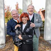 NLD/Woudenberg/20181008 - Herdenkingsdienst Anneke Gronloh, Ronnie Tober en partner Jan Jochems en Trea Dobbs