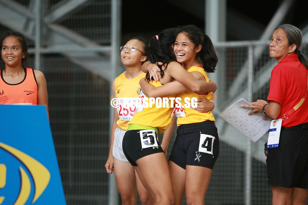 National Stadium, Friday, April 29, 2016 — Tanisha Moghe of Cedar Girls' Secondary took home gold with a 12.63 seconds effort in the B Division girls' 100m final at the 57th National Schools Track and Field Championships.