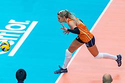 03-10-2018 NED: World Championship Volleyball Women day 5, Yokohama<br /> Argentina - Netherlands 0-3 / Laura Dijkema #14 of Netherlands