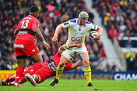 Jonathan DAVIES / Juan SMITH / Mathieu BASTAREAUD - 02.05.2015 - Clermont / Toulon - Finale European Champions Cup -Twickenham<br />