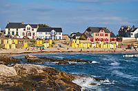 France, Loire-Atlantique (44), Batz-sur-Mer, la plage // France, Loire-Atlantique, Batz-sur-Mer, the beach