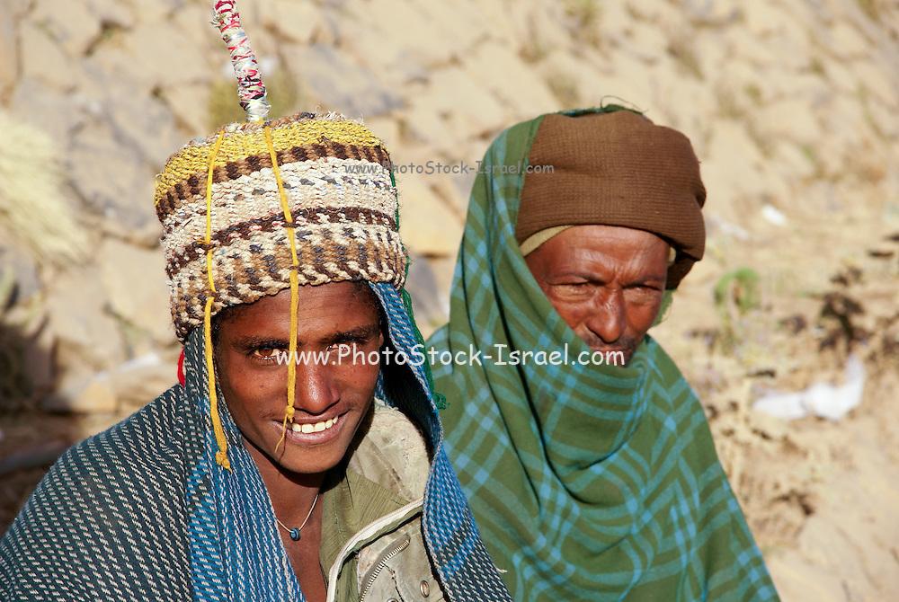 Portrait of local people. Axum, Ethiopia