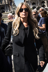 May 27, 2017 - Rome, Italy, Italy - Funeral of the stylist Laura Biagiotti in the church of Basilica Santa Maria in Rome. (Credit Image: © Andtea Ronchini/Pacific Press via ZUMA Wire)
