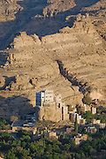 The Rock Palace, near Sanaa, the capital city  of Yemen.