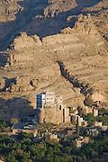 The Rock Palace, near Sanaa, the capital city  of Yemen.