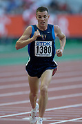 Daniel Browne of the United States in the 10,000 meters in the IAAF World Championships in Athletics at Stade de France on Sunday, Aug, 24, 2003.