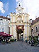 The Basilian Gate, along Ausros Vartu Gatve, Vilnius, Lithuania