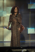 January 12, 2013- Washington, D.C- Recording Artist Chaka Khan (Honoree) receives her award at  the 2013 BET Honors held at the Warner Theater on January 12, 2013 in Washington, DC. BET Honors is a night celebrating distinguished African Americans performing at exceptional levels in the areas of music, literature, entertainment, media service and education. (Terrence Jennings)
