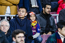 January 13, 2019 - Barcelona, Catalonia, Spain - FC Barcelona fans during the match FC Barcelona against Eibar, for the round 19 of the Liga Santander, played at Camp Nou  on 13th January 2019 in Barcelona, Spain. (Credit Image: © Mikel Trigueros/NurPhoto via ZUMA Press)