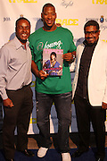 l to r: Claude Grunitzky, Bobby Simmons and Marc Baptiste at the Trace Magazine annual launch for ' Black Girls Rule ' issue held at Merkato 55 on August 19, 2008