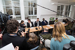 London - Alleged computer hacker Lauri Love at a press conference held at his solicitor's chambers in London after he successfully challenged a ruling that he can be extradited to the US, following allegations that he hacked United States government websites. February 05 2018.
