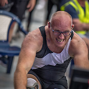 Gavin Foulsham MALE HEAVYWEIGHT Para 20+ 1K Race #12  12:00pm<br /> <br /> <br /> <br /> www.rowingcelebration.com Competing on Concept 2 ergometers at the 2018 NZ Indoor Rowing Championships. Avanti Drome, Cambridge,  Saturday 24 November 2018 © Copyright photo Steve McArthur / @RowingCelebration