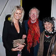NLD/Amsterdam/20101110 - Presentatie Linda het Boek, journaliste Antoinette Scheulderman, Freek de Jonge en partner Hella Asser