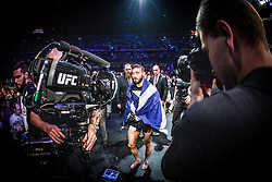 Robert Whiteford after beating Paul Redmond. UFC Glasgow on Saturday, July 18 at The Hydro.