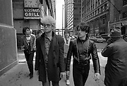 U2  - The Edge, Bono, Larry and Adam - USA tour photosessions in Chicago - December 1981