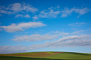 The blue sky and clouds over the wheat field are what makes this image in my opinion.