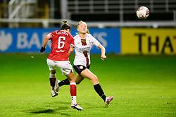 Chloe Logarzo of Bristol City Women scores a goal - Mandatory by-line: Dougie Allward/JMP - 07/10/2020 - FOOTBALL - Twerton Park - Bath, England - Bristol City Women v London Bees - FA Continental Cup
