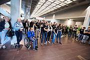 In Amsterdam wordt het zevende Human Power Team, dat bestaat uit studenten van de TU Delft en de VU Amsterdam, gehuldigd op de Vrije Universiteit door de voorzitter van het College van Bestuur Jaap Winter. Het team heeft in september 2017 het Nederlands snelheidsrecord verbroken. Aniek Rooderkerken reed 121,5 km/h, net te weinig voor het wereldrecord.