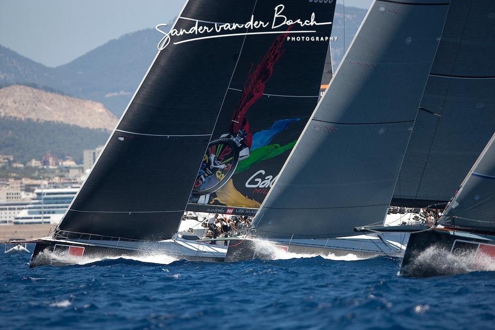 Costal race of the Copa Del Rey, Palma de Mallorca, Spain (16-21 July 2012)  © Sander van der Borch / Gaastra