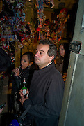 MARK HIX, Favela Descending. Gerry Fox.  Part of Concrete and Glass. Village Underground. Hollywell Lane.  London. 2 October 2008 *** Local Caption *** -DO NOT ARCHIVE-© Copyright Photograph by Dafydd Jones. 248 Clapham Rd. London SW9 0PZ. Tel 0207 820 0771. www.dafjones.com.