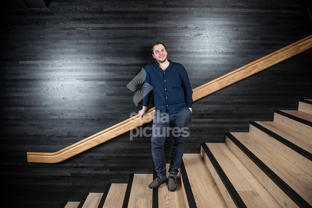 Author Barney Norris  pictured at The Bridge Theatre, London<br /> Picture by Daniel Hambury/Stella Pictures Ltd 07813022858<br /> 12/12/2017