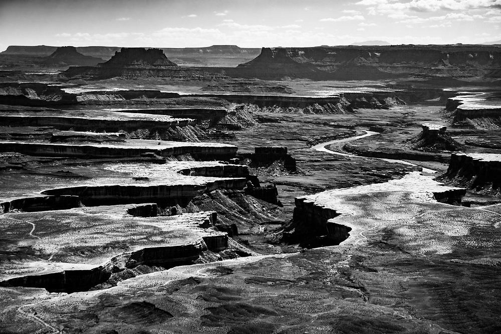 River Carved Valley in Canyonlands National Park in Moab, Utah. ©justinalexanderbartels.com