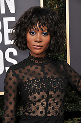 Zuri Hall at the 75th Golden Globe Awards held at the Beverly Hilton in Beverly Hills, CA on January 7, 2018.<br /><br />(Photo by Sthanlee Mirador)