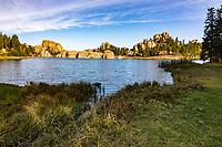 Sylvan Lake at Custer State Park.  South Dakota, USA.