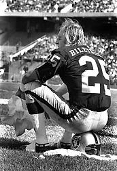 Oakland Raiders flanker Fred Biletnikoff (1972 photo/Ron Riesterer)