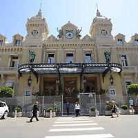 General view of the Casino de Monte-Carlo in Monaco.