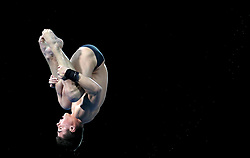 England's Matthew Dixon in action in the Men's 10m Platform Final at the Optus Aquatic Centre during day ten of the 2018 Commonwealth Games in the Gold Coast, Australia.