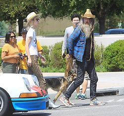 Rob Zombie is seen in Los Angeles, CA.