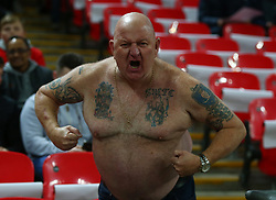 November 15, 2018 - London, United Kingdom - England Fan.during the friendly soccer match between England and USA at the Wembley Stadium in London, England, on 15 November 2018. (Credit Image: © Action Foto Sport/NurPhoto via ZUMA Press)