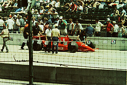 Indianapolis Time Trials, May 1987<br /> #41 - Stan Fox.<br /> <br /> A scan from an old photo or slide from the collection of Alan and Becky Look dated 1987 and 1988.