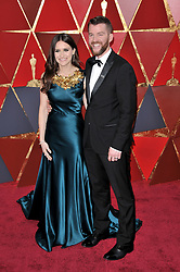 Elaine McMillion Sheldon and Kerrin Sheldonwalking on the red carpet during the 90th Academy Awards ceremony, presented by the Academy of Motion Picture Arts and Sciences, held at the Dolby Theatre in Hollywood, California on March 4, 2018. (Photo by Sthanlee Mirador/Sipa USA)