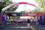 13 September 2009- NY, NY Atmosphere at The Annual Komen New York City Race for the Cure held at West 77th Street and Central Park West on September 13, 2009 in New York City.  Photo credit: Terrence Jennings/Sipa Press
