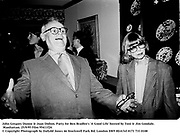 John Gregory Dunne & Joan Didion. Party for Ben Bradlee's 'A Good Life' hosted by Toni & Jim Goodale. Manhattan. 25/9/95 Film 95411f24<br />© Copyright Photograph by Dafydd Jones<br />66 Stockwell Park Rd. London SW9 0DA<br />Tel 0171 733 0108