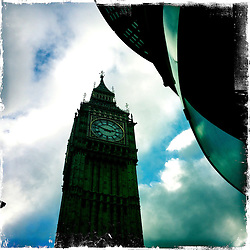 Big Ben..Hipstamatic images taken on an Apple iPhone..©Michael Schofield.
