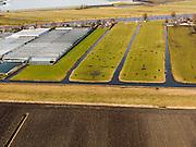 Nederland, Zuid-Holland, Gemeente Aalsmeer, 20-02-2012; kassen en weilanden ten zuiden van Kudelstaart.Greenhouses and meadows. Land division..luchtfoto (toeslag), aerial photo (additional fee required);.copyright foto/photo Siebe Swart.