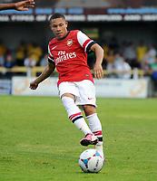 Football : Sutton United v Arsenal X1 12/07/2013<br /> Wellington Silva - Arsenal new signing from Corinthian