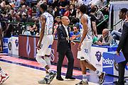 DESCRIZIONE : Campionato 2014/15 Dinamo Banco di Sardegna Sassari - Openjobmetis Varese<br /> GIOCATORE : Stefano Sardara Jeff Brooks<br /> CATEGORIA : Fair Play<br /> SQUADRA : Dinamo Banco di Sardegna Sassari<br /> EVENTO : LegaBasket Serie A Beko 2014/2015<br /> GARA : Dinamo Banco di Sardegna Sassari - Openjobmetis Varese<br /> DATA : 19/04/2015<br /> SPORT : Pallacanestro <br /> AUTORE : Agenzia Ciamillo-Castoria/L.Canu<br /> Predefinita :