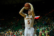 WACO, TX - DECEMBER 18: Brady Heslip #5 of the Baylor Bears shoots a three-pointer against the Northwestern State Demons on December 18 at the Ferrell Center in Waco, Texas.  (Photo by Cooper Neill) *** Local Caption *** Brady Heslip