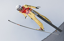 Roberto Dellasega (ITA) during Ski Flying Hill Men's Team Competition at Day 3 of FIS Ski Jumping World Cup Final 2017, on March 25, 2017 in Planica, Slovenia. Photo by Vid Ponikvar / Sportida