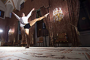 Perspreview 50 jaar Koninklijk Paleis Amsterdam.<br /> <br /> Op de foto:   Een dansvoorstelling tijdens de perspreview