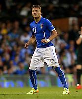 Ciro Immobile of Italy