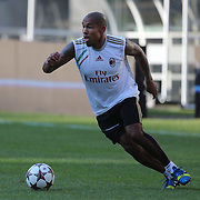 Nigel De Jong, training with AC Milan in preparation for the Guinness International Champions Cup tie with Chelsea at MetLife Stadium, East Rutherford, New Jersey, USA.  3rd August 2013. Photo Tim Clayton