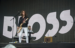 Blossoms play the Radio 1 stage on Sunday 10/6 at T in the Park 2016, Strathallan Castle, Perthshire.