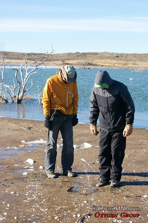 Greg & Nick Checking Out Quicksand