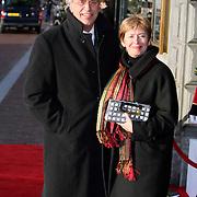 NLD/Amsterdam/20080201 - Verjaardagsfeest Koninging Beatrix en prinses Margriet, Guusje ter Horst en partner
